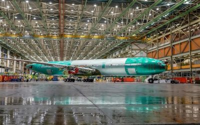 Boeing launch prototype of the 777X